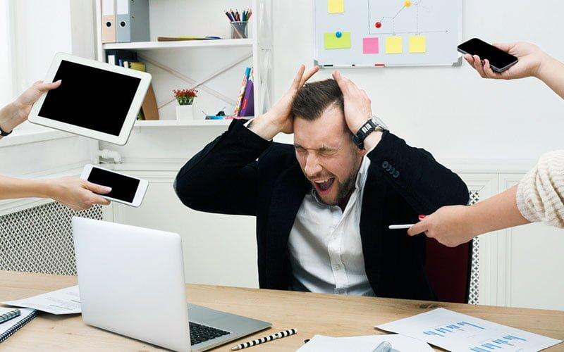 7 pasos para enfrentar el estrés laboral